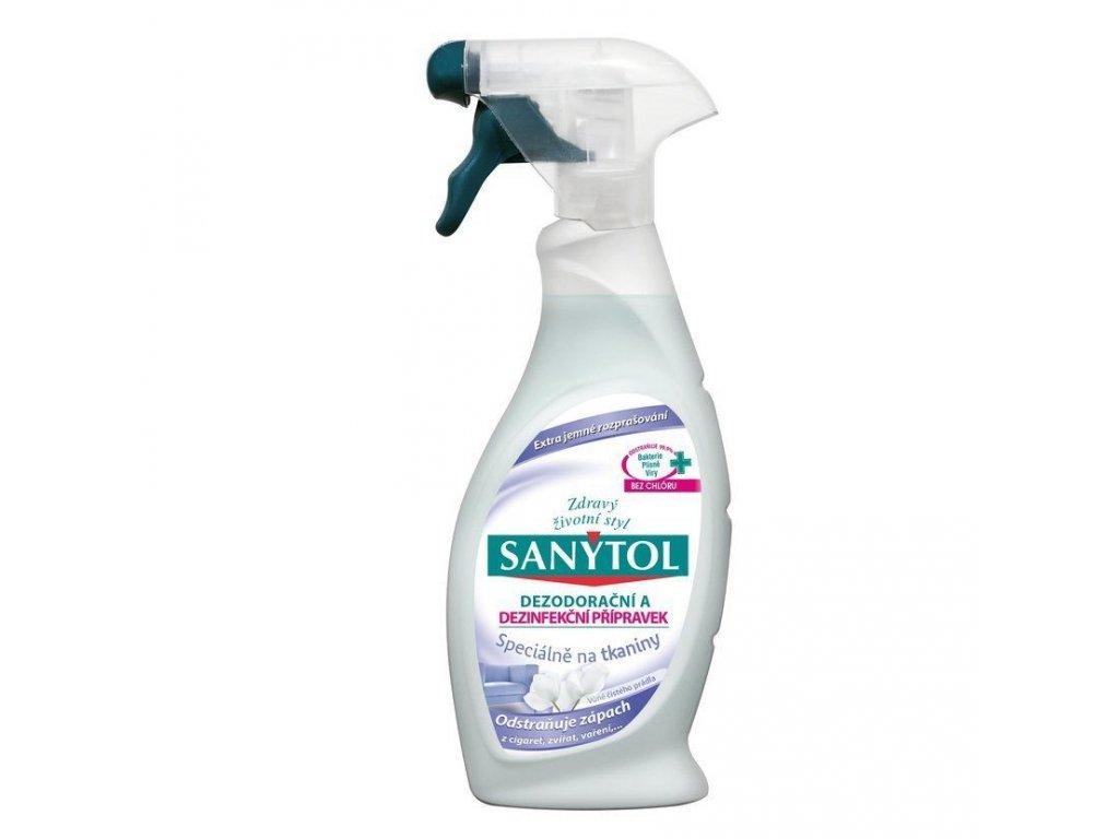 sanytol dezodoracni a dezinfekcni pripravek specialne na tkaniny 500 ml l