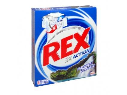 REX 3x action 300g - prací prášek na bílé prádlo