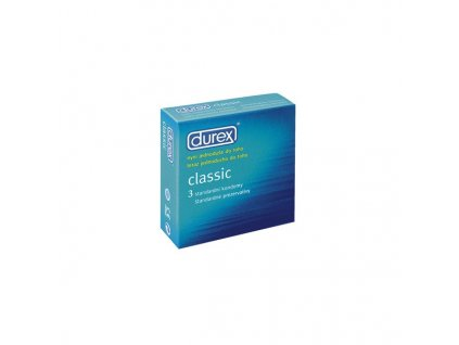 Durex Classic kondomy 3ks