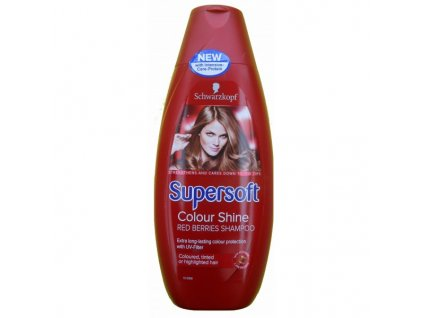 Schwarzkopf Schauma Supersoft Colour Shine 400ml vlasový šampon