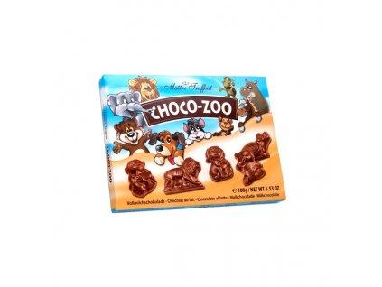 Choco ZOO 100g mléčná čokoláda, figurky zvířátek