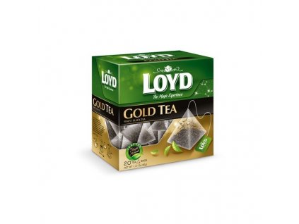 Loyd Gold Tea, černý čaj 20 sáčků