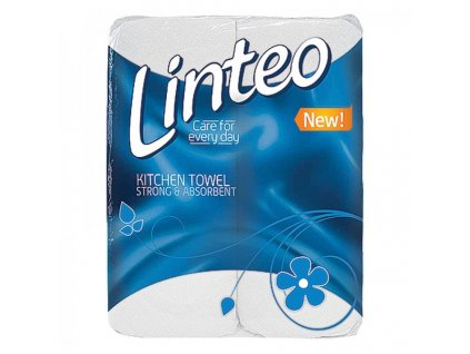 Papírové kuchyňské utěrky Linteo 2 role v balení