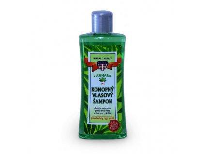 Konopný vlasový šampon Cannabis Herbal Therapy 250ml