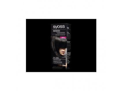 Syoss Color Baseline 1 - 1 Černá barva na vlasy