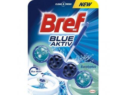Bref Blue Aktiv WC blok závěsný 51g Eukalyptus