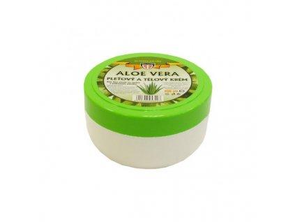 Aloe vera pleťový a tělový krém, 200ml