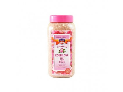 Rosarium koupelová sůl růže 900g