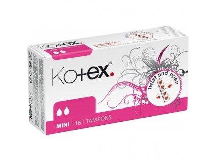 Kotex mini 16ks dámské hygienické tampóny