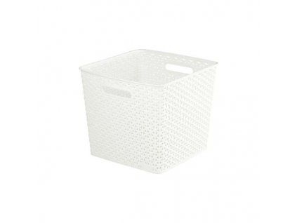 úložný box MY STYLE SQR - krémový