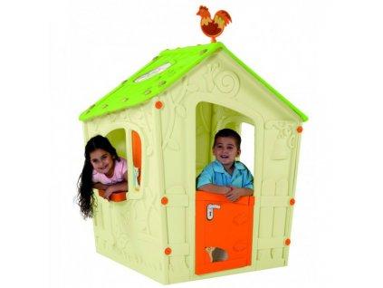 MAGIC PLAY HOUSE domeček - béžový