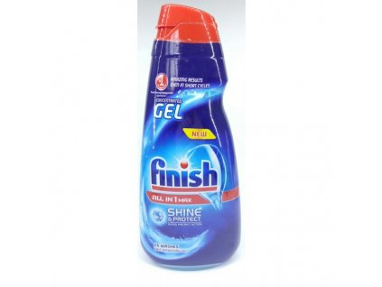 Calgonit Finish All in 1 Max Shine & Protect gel 650 ml