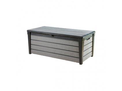 BRUSHWOOD box - 455L - antracit+šedý
