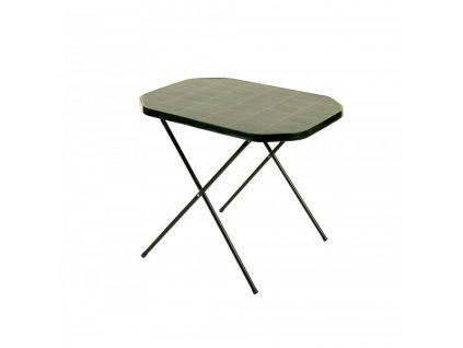 Stůl CAMPING 53x70 - zelený