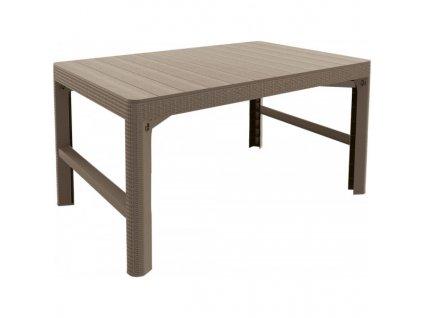 stůl LYON rattan - cappuchino