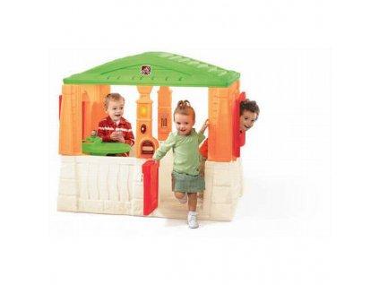 STEP2 Dětský domeček NeatTidy - elegantní hrací chaloupka