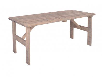 VIKING stůl ŠEDÝ - 150 cm
