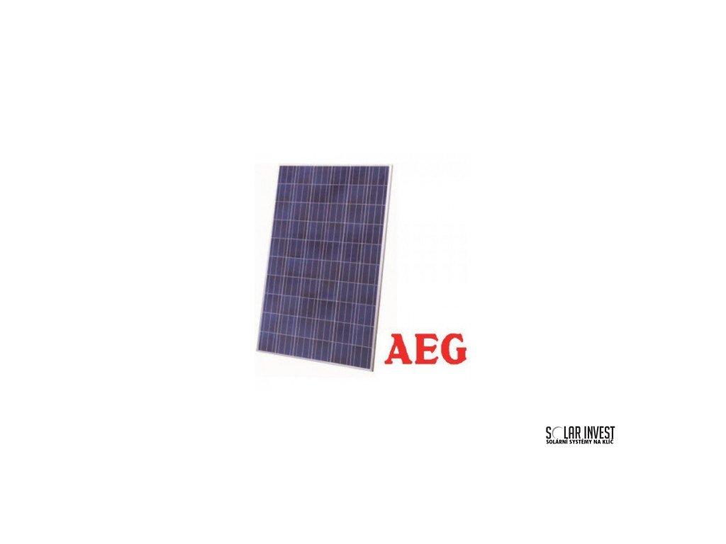 Fotovoltaick 253 Panel Aeg 265 Wp Poly Solar Eshop Cz