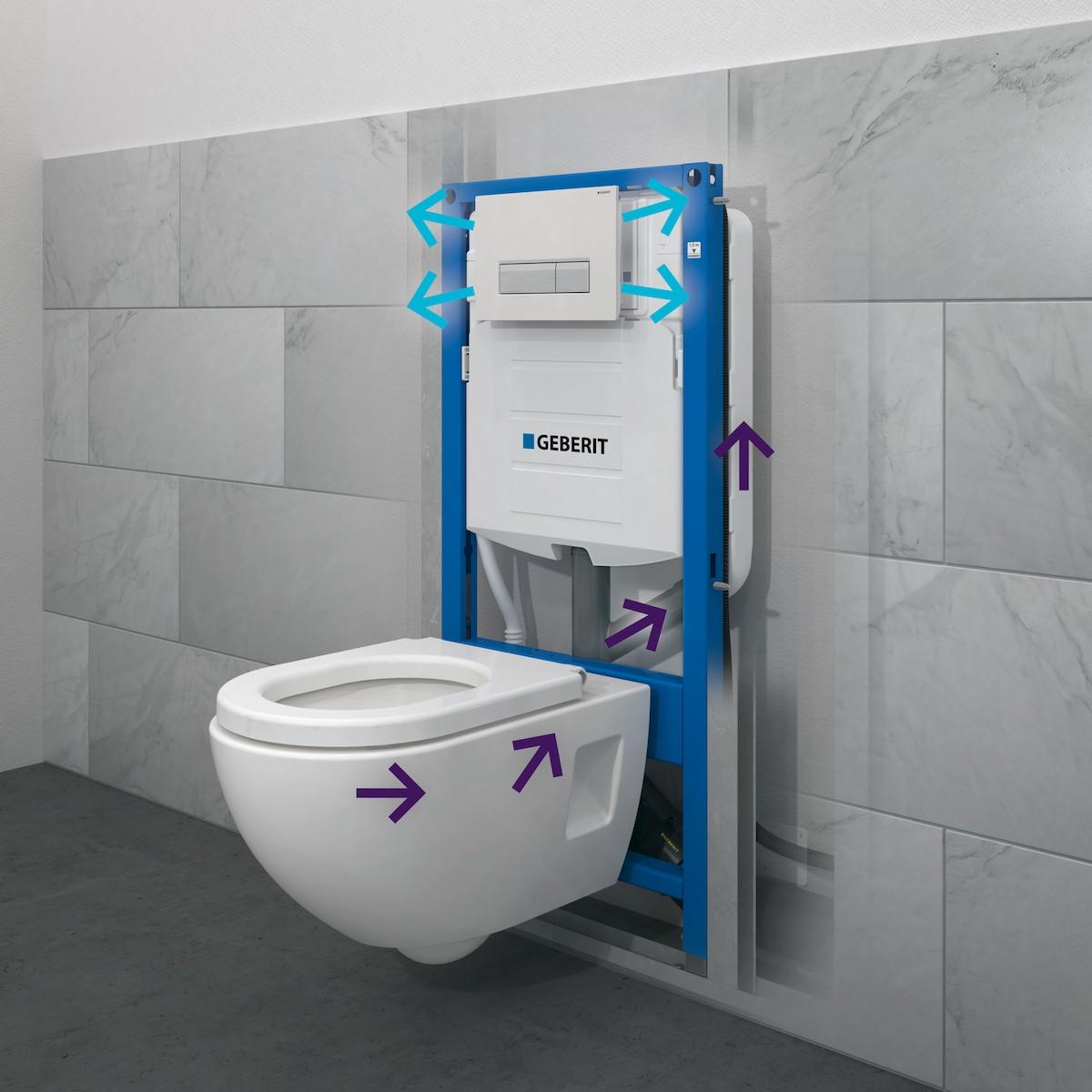Předstěnové systémy modul pro WC