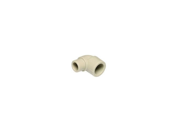 Tvarovka PPR koleno vnitřní vnější plastová voda 90° 25 mm Ekoplastik