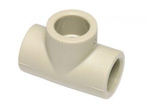 Tvarovka PPR T-kus jednoznačný plastová voda 90 mm Ekoplastik