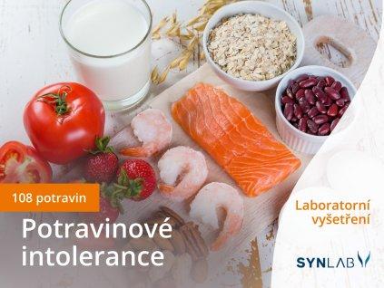 Potravinové intolerance 108 potravin