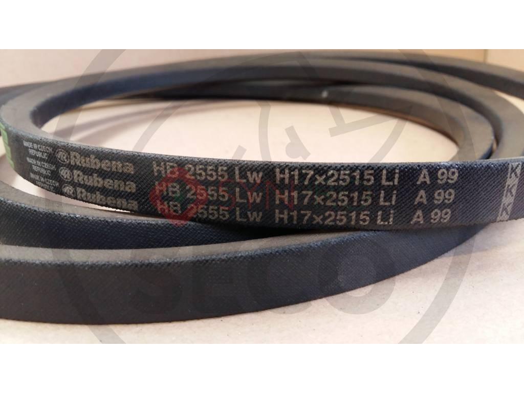 Klín. řemen H17x2515 Li (2555 Lw) - N272731226