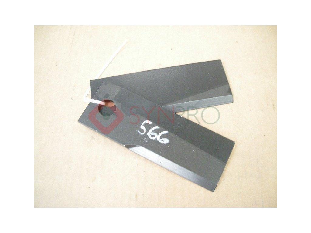 Dvojice nožů GOLIATH/CROSSJET standart, žací ústrojí 92cm - S532950602033