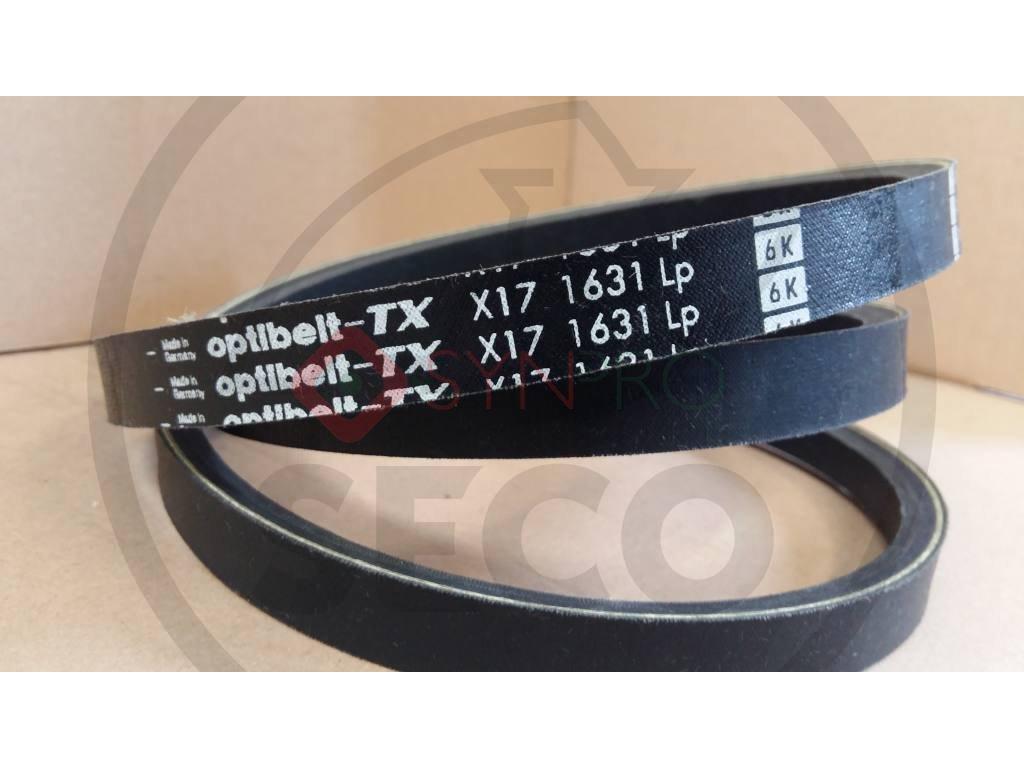 Klín. řemen X17X1631 LP Optibelt - N272731250