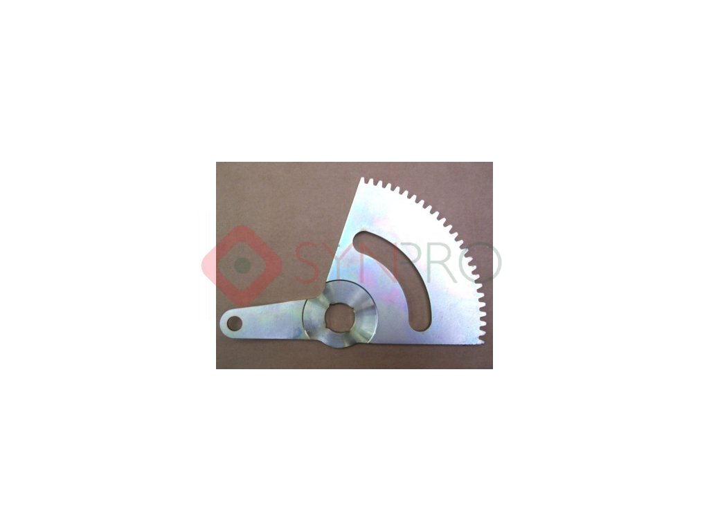 Segment ozubený - S532033322143