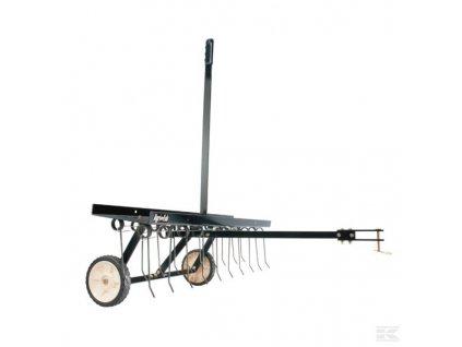 Vertikutační hrábě, tažené - 100 cm