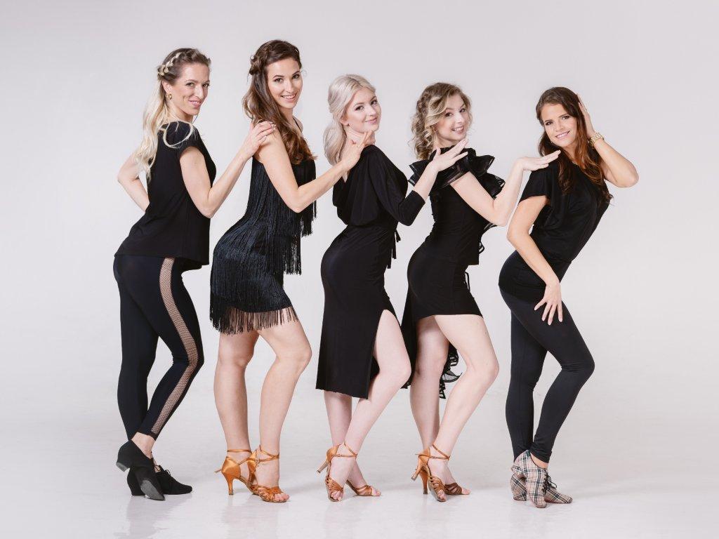 Mírně pokročilé + pokročilé - Latin Ladies (Kyšice)