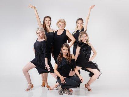 Začátečnice + mírně pokročilé - Latin Ladies (Chyňava)