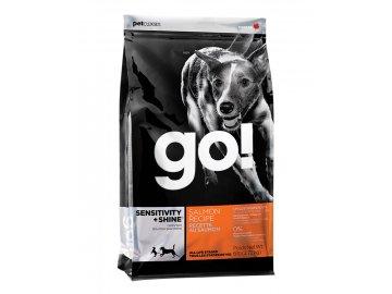 PetCurean GO Sensitive + Shine Salmon 2,72 kg