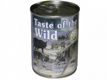Taste of the Wild Sierra Mountain 375g konz.pes