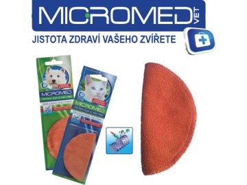 MICROMED Utěrky na oči a uši PES