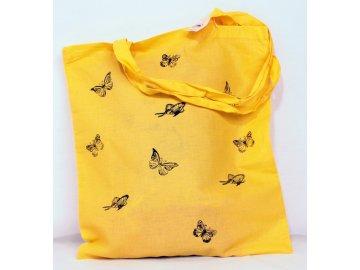 Taška plátěná - motýlci