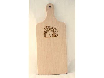 Dřevěné prkénko malé