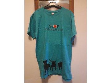 Tričko modré vel.M 1ks