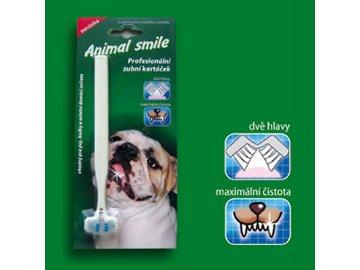 Dvouhlavý zubní kartáček