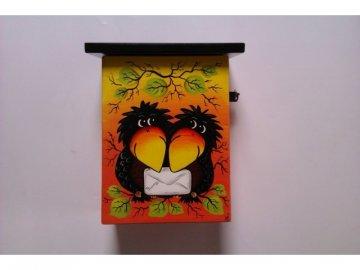 Poštovní schránka - oranžovožlutá
