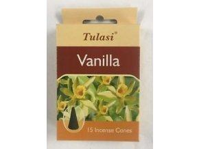 Tulasi Vanilla vonné jehlánky