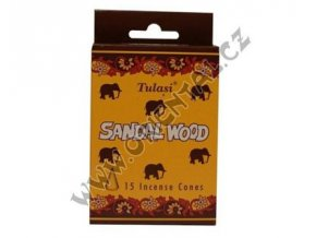 Vonné jehlánky Tulasi Sandalové dřevo