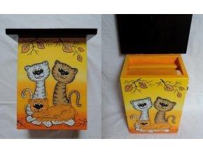 Poštovní schránka - Kočky