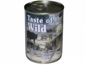 Taste of the Wild Sierra Mountain 390g konz.pes