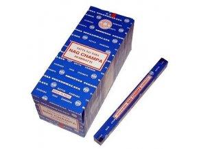 Indické vonné tyčinky Shrinivas Nag Champa 250 g modré