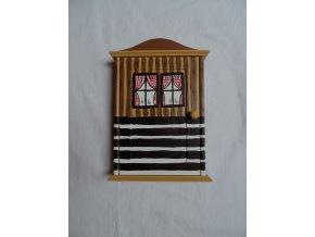 Schránka/domeček na klíče - Roubenka