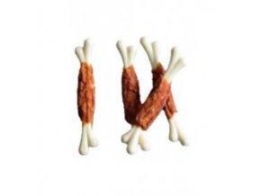 Pochoutka Kalciová kost 5cm s kachním masem 500g