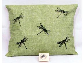 Pohankový polštář s levandulí - vážky