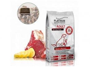 PLATINUM ADULT  Beef & Potato - HOVĚZÍ S BRAMBOREM